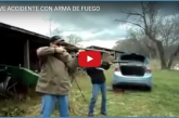 GRAVE ACCIDENTE CON ARMA DE FUEGO