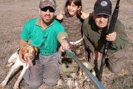Foto del día: Tres generaciones de cazadores