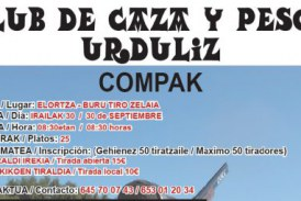 Bizkaia: 30 de setiembre Tirada de Compak en Urduliz