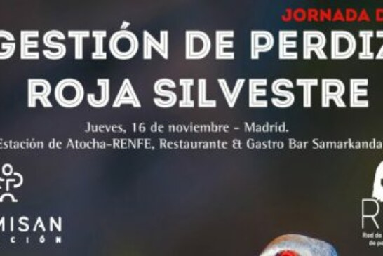 Madrid acogerá las primera jornada sobre Perdiz Roja Silvestre organizada por la Fundación Artemisan