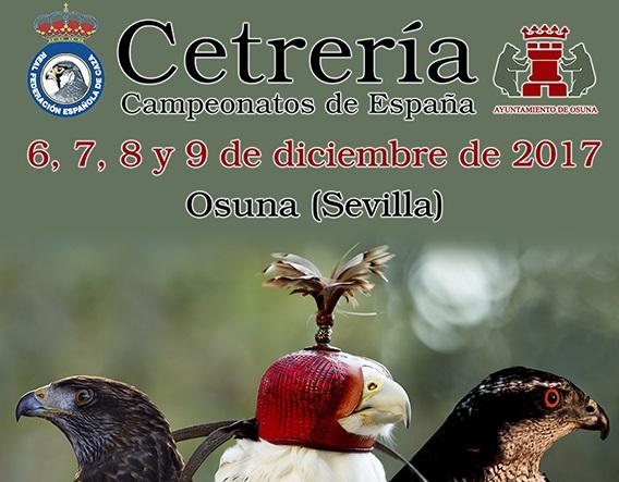 El mundo cetrero acude hoy a Osuna para celebrar los Campeonatos de España 2017