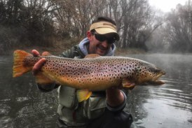 Foto del día: Pesca de invierno con Dani Garcia