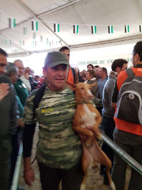 ganador campeonato españa caza menor con perro