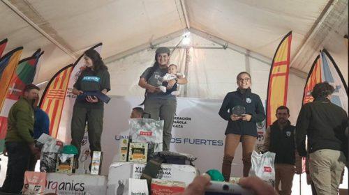 podio damas campeonato de España de caza menor con perro