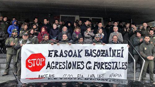 Navarra. Detenido furtivo en Bertiz por amenazar a guarda forestal