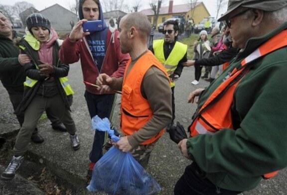 Animalistas insultan y agreden a cazadores en Galicia