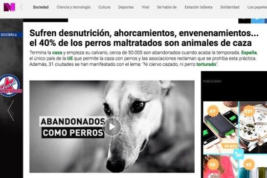 La RFEC pide a La Sexta que contraste informaciones antes de hacer publicaciones que fomentan el odio hacia el colectivo cazador
