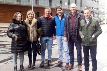Las Federaciones Bizkaina y Alavesa de caza se reúnen en Bilbao con el Presidente de la Federación Española de Caza