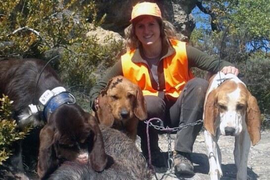 Itsaso Fagoaga: Dejo el tiro olímpico pero voy a seguir con mi afición a la caza, sobre todo del jabalí