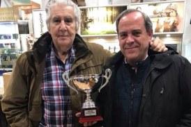 Javier Atxa ganador de la Copa de Bizkaia de compak sporting