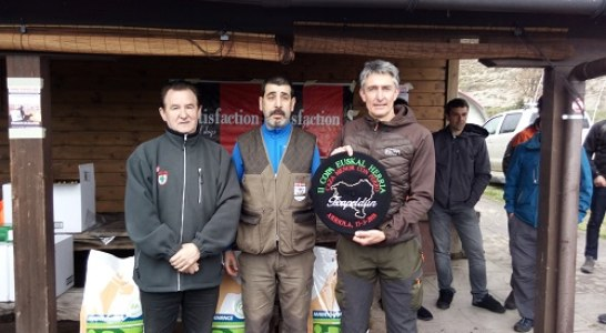 Éxito en la II Copa Euskal Herria de caza menor con perro