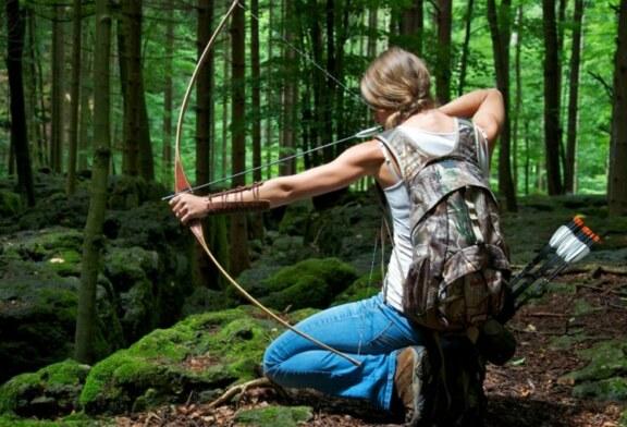 La mujer caza desde la prehistoria. Interesante exposición
