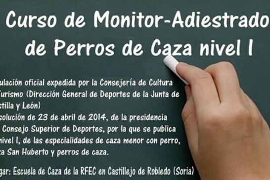 Curso 'Monitor Deportivo-Adiestrador de Perros de Caza' RFEC
