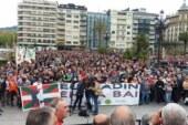 Donostia. 10.000 cazadores defienden la caza de los ataques animalistas y reivindican en la caza en Ulia  (+ galería de fotos y vídeo)