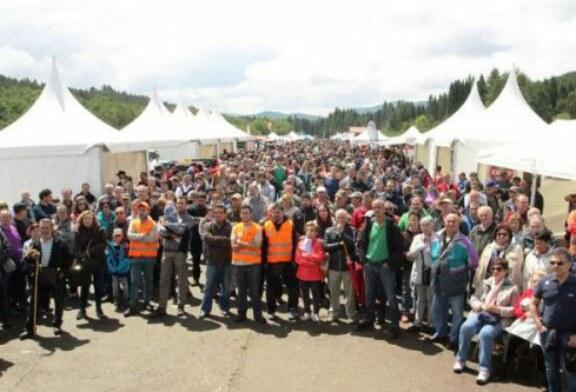 Fiesta y reivindicación en el Día del Cazador y Pescador