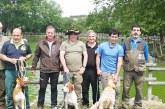 Xabier Ezkurra ganador del campeonato de Euskadi de perros de rastro