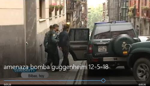 Amenaza de bomba en el Guggenheim por grupos animalistas (+vídeo)