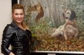 La caza y la pesca se hacen arte en las obras pictóricas de Icíar Mikelperizena