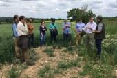 El proyecto INTERFIELD visita Reino Unido para conocer de primera mano nuevas medidas agroambientales