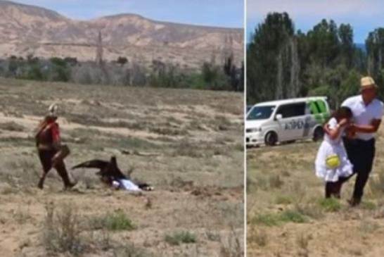 Vídeo: así fue el escalofriante momento en que un águila ataca a una niña