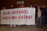 La Diputación de Gipuzkoa acata la sentencia y se podrá cazar en Ulia