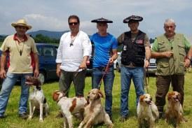 Éxito de participación en el campeonato de perros de muestra de Belendiz