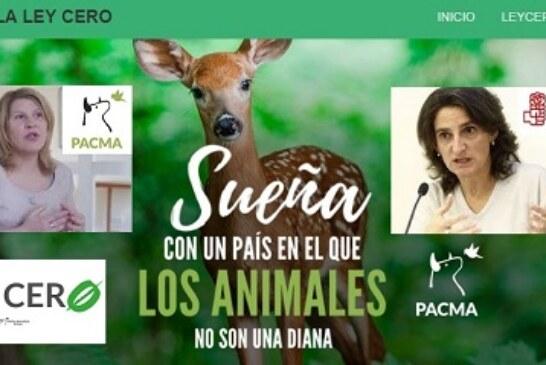 Comunión entre el Gobierno de España y el partido animalista PACMA