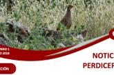 Proyecto Rufa. Primer boletín de Noticias Perdiceras