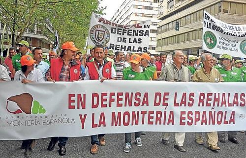 Convocatoria del paro general de rehalas en Soria por el acoso al sector