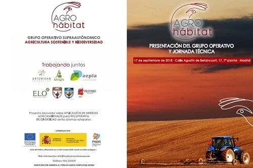 El Grupo de Agricultura Sostenible y Biodiversidad, AGROHÁBITAT', se presentará en una jornada técnica el próximo lunes