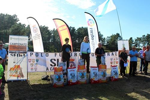 Miguel Á. Huertas, en Hombres, Noelia Cartes, en Damas, y Josu Bernarás, en Spaniels, nuevos campeones nacionales de Caza San Huberto