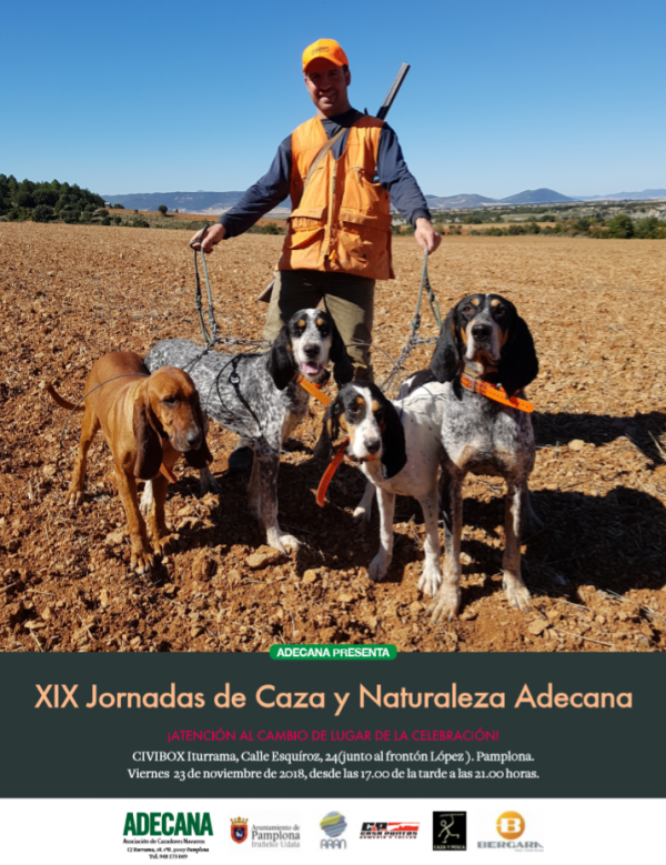 JORNADAS XIX DE CAZA Y NATURALEZA DE ADECANA