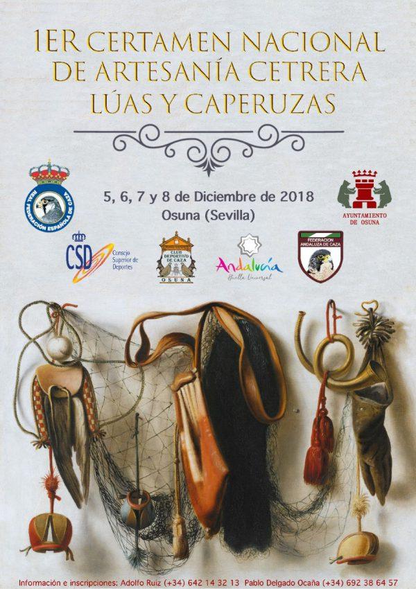 Osuna acogerá un año más los Campeonatos de España de Cetrería