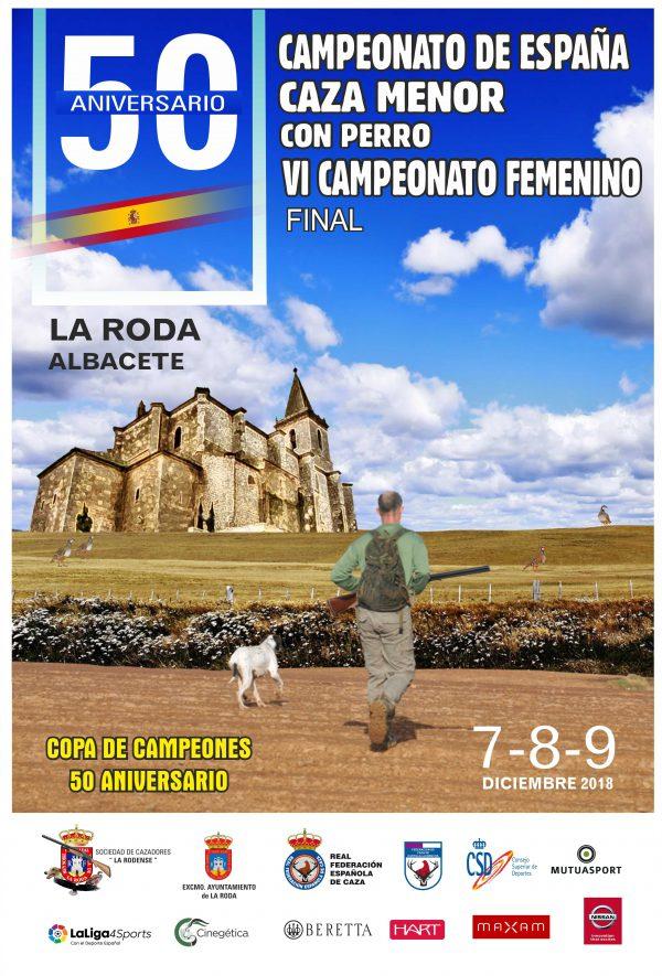 L Campeonato de España de Caza Menor con Perro y VI Campeonato Femenino
