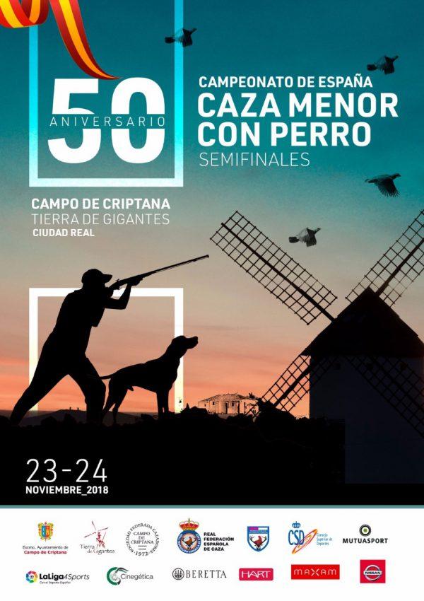 Campeonato y Copa España de caza menor con perro