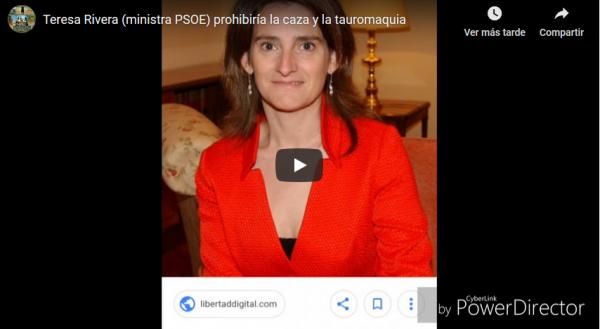 La UNAC pide la dimisión de la ministra de Teresa Ribera