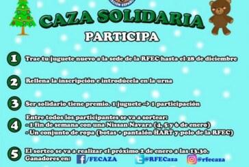 Recogida solidaria de juguetes nuevos en sede de la RFEC