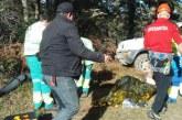 Un fallecido en accidente de caza en Valdegobia (Alava)
