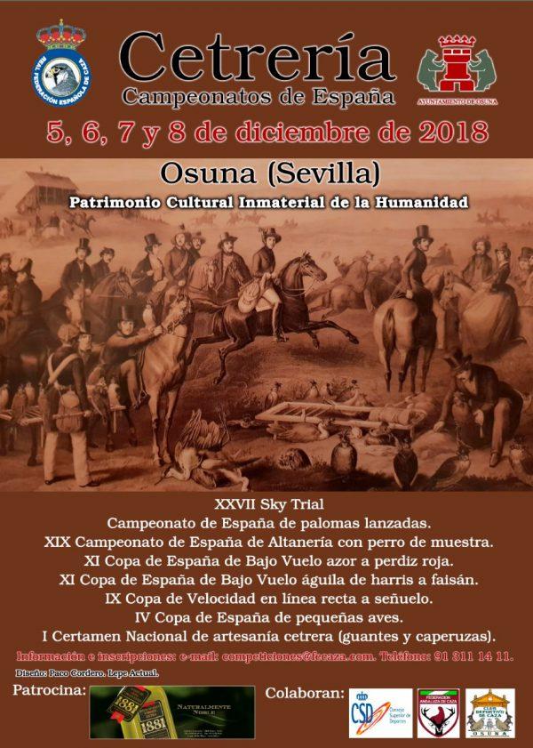 La cetrería hoy en Osuna en los Campeonatos de España