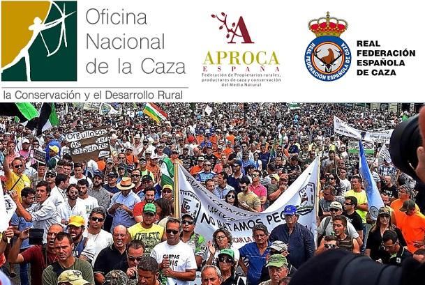 La RFEC, las FFAA, ONC y APROCA no estarán en la manifestación del 3 de marzo