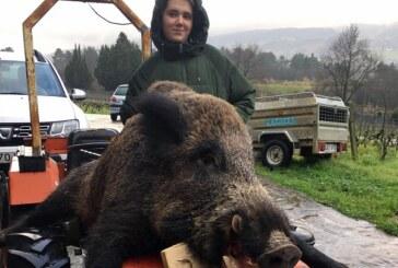 Jóvenes aficionados confirman el interés por la caza que existe en Euskadi