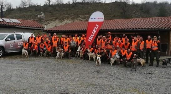 Récord de participación en la III Copa de Euskal Herria de caza menor con perro
