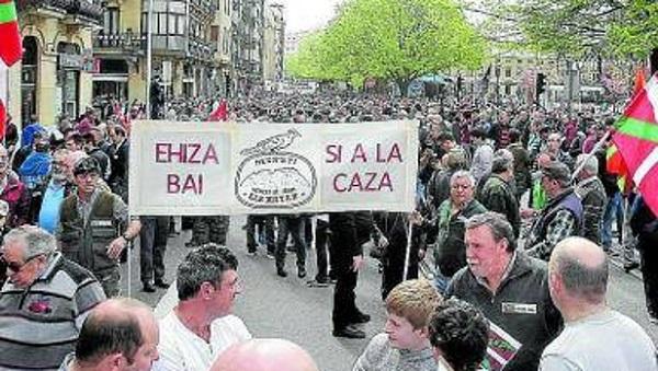 ADECAP y las federaciones de Bizkaia y Araba acudirán a la manifestación en defensa de la caza