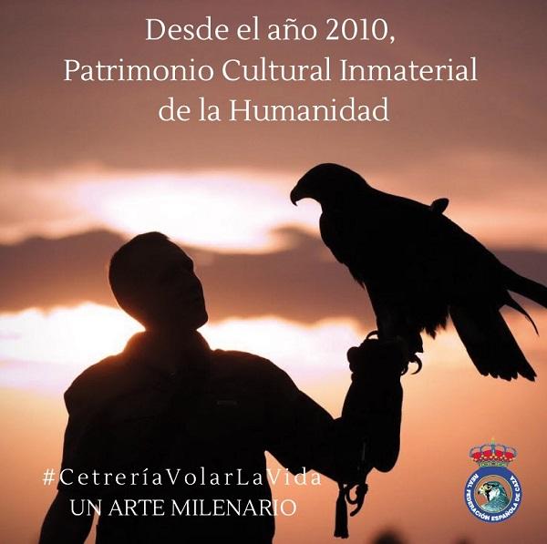 La RFEC lanza  la campaña #CetreríaVolarLaVida