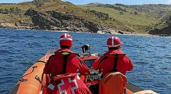 Sigue la búsqueda del pescador navarro desaparecido en Hondarribia (+ vídeo)