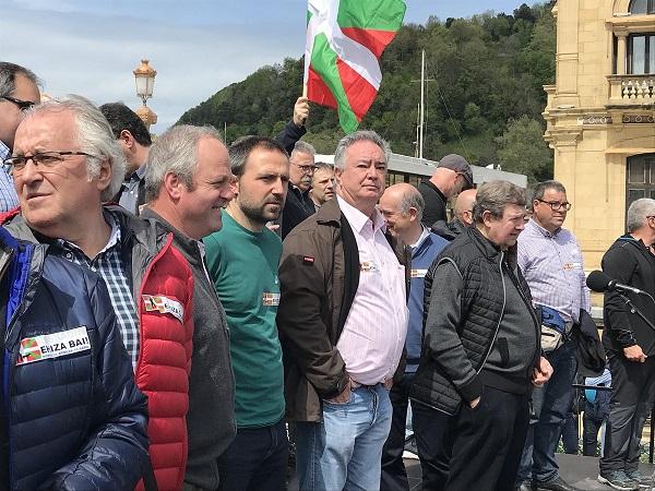 Manifestación de cazadores mañana en Donostia en defensa de sus derechos