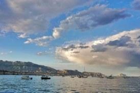 Manifestación marítima en defensa de la pesca deportiva