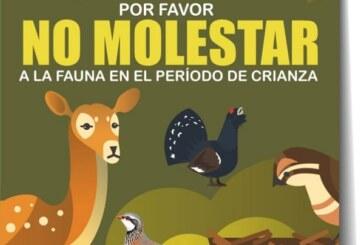Artemisan alerta sobre el peligro de molestar a la fauna silvestre durante los períodos de cría