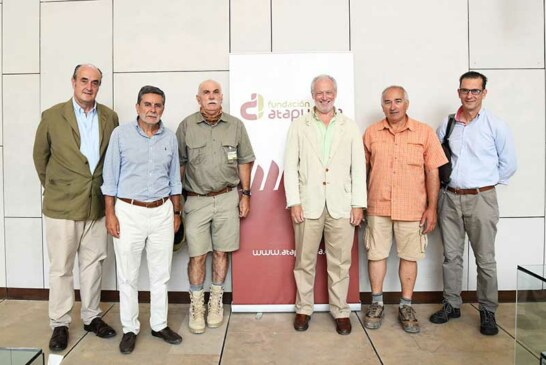 La Fundación Atapuerca y la Fundación Artemisan sientan las  bases de un acuerdo de colaboración