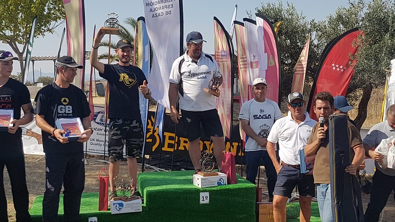 Campeón de España 2019 de Compak Sporting